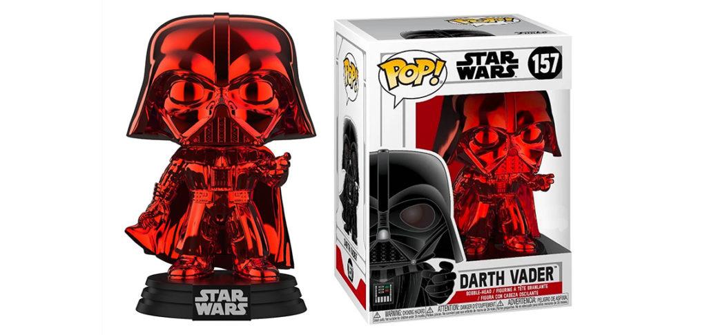 Exclusive Red Darth Vader Funko Pop! Vinyl Figure