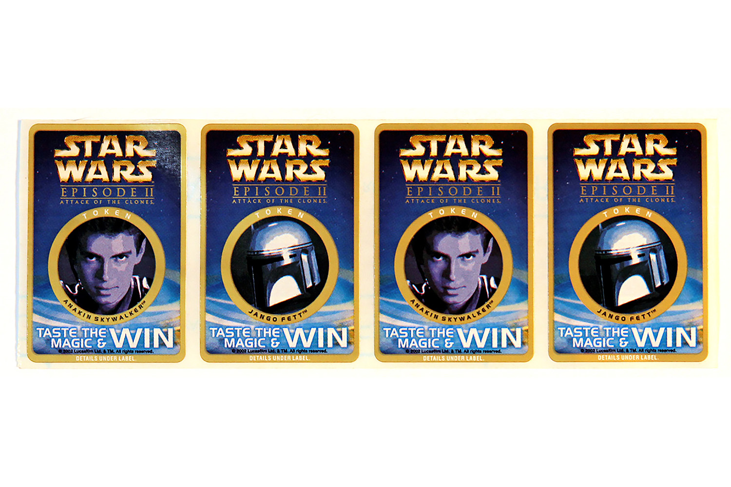 """""""Taste the Magic"""" Competition Tokens"""