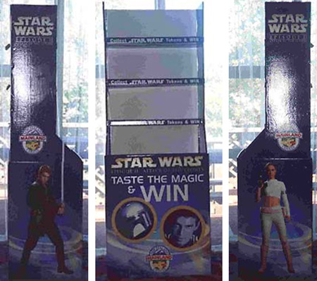 """Taste the Magic"" Store Display"