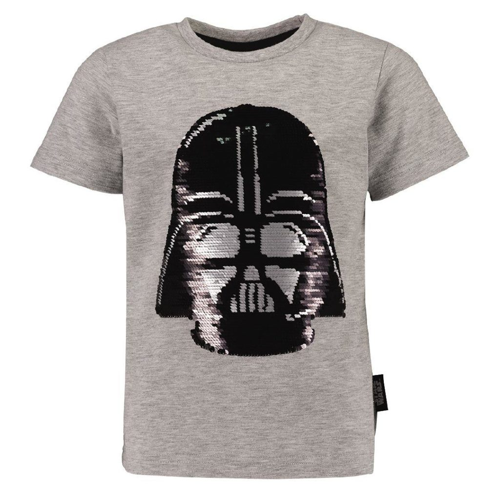 Kids Star Wars Darth Vader Sequin T-Shirt at The Warehouse NZ