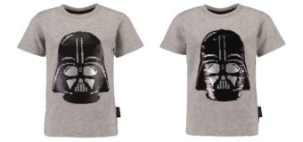 Kid's Darth Vader Sequin Tee