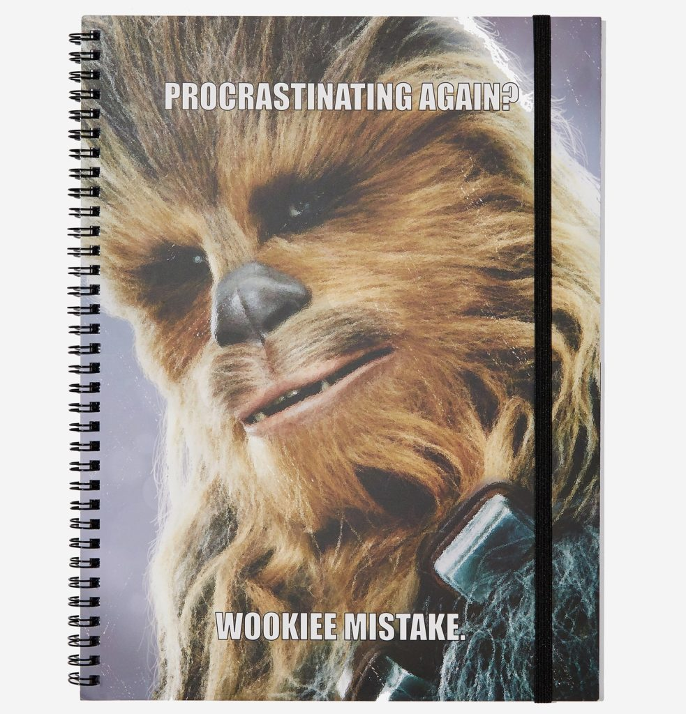Star Wars Chewbacca A4 Notebook at Typo NZ