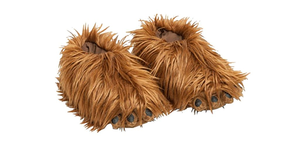 Star Wars Chewbacca Slippers on Sale at EB Games NZ