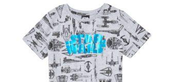 Kids Star Wars Blueprint T-Shirt