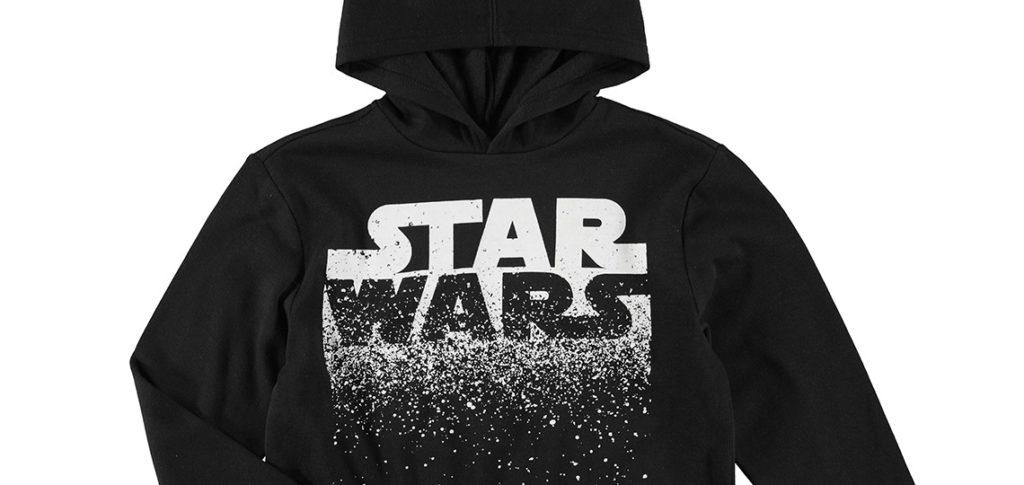 Kid's Star Wars Logo Hoodie at Kmart NZ