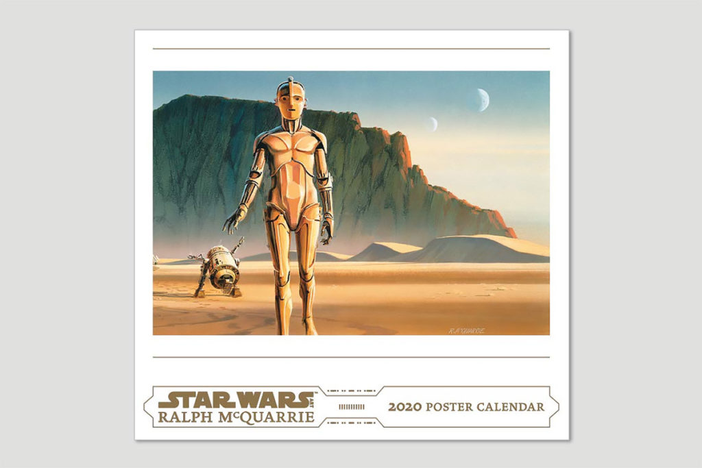 Ralph McQuarrie Star Wars Poster 2020 Calendar