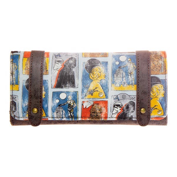 Loungefly x Star Wars Character Print Tote Bag and Wallet at Mighty Ape NZ