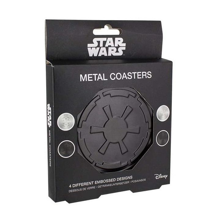 Star Wars Metal Coaster Set at Mighty Ape NZ
