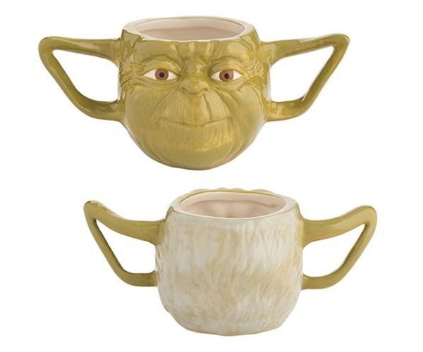 Star Wars Yoda Premium Sculpted Mug at Mighty Ape NZ