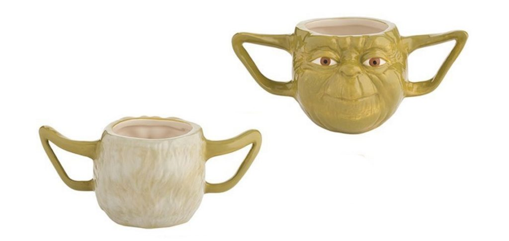 Star Wars Yoda Premium Sculpted Mug at Mighty Ape NZ