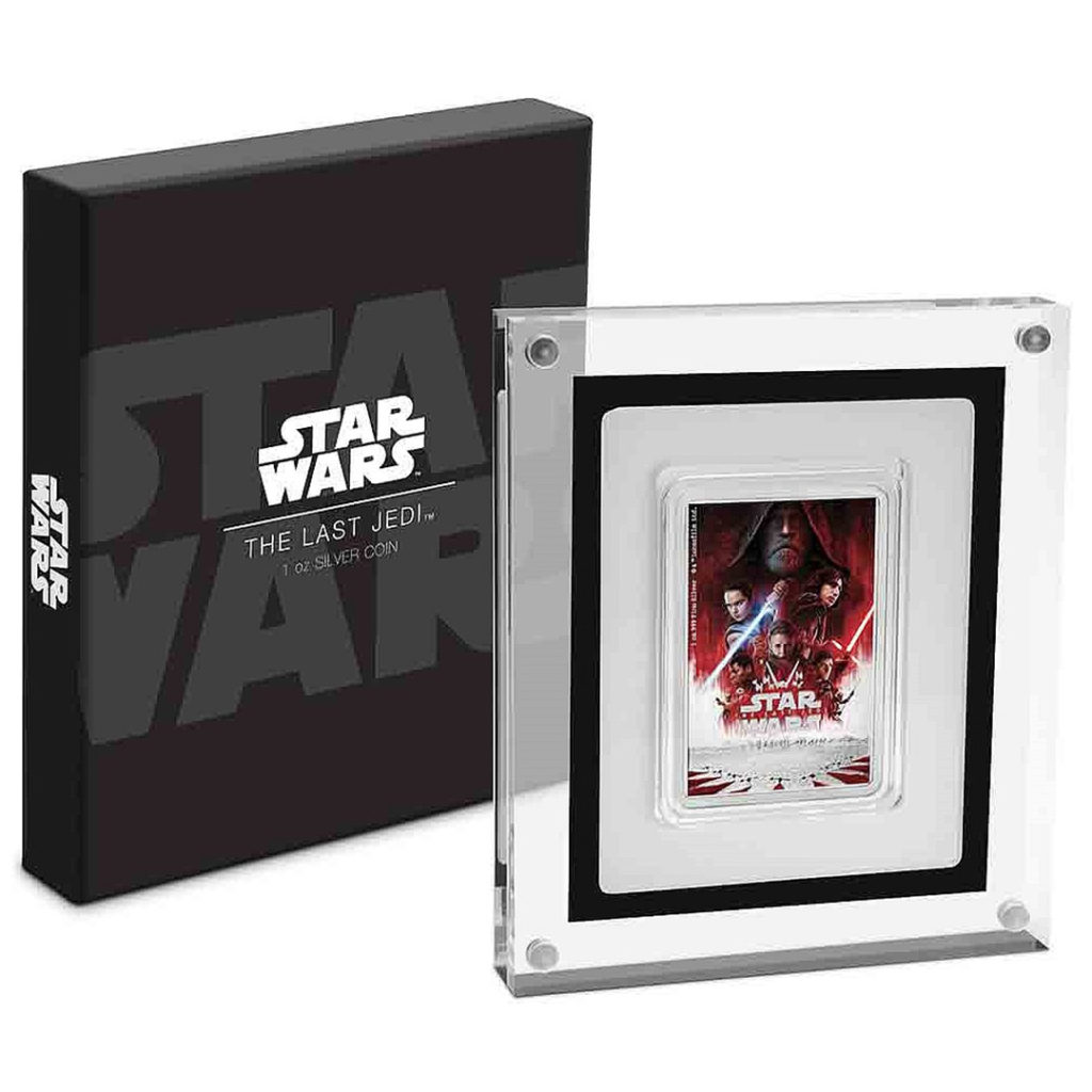 'The Last Jedi' Poster Coin from NZ Mint