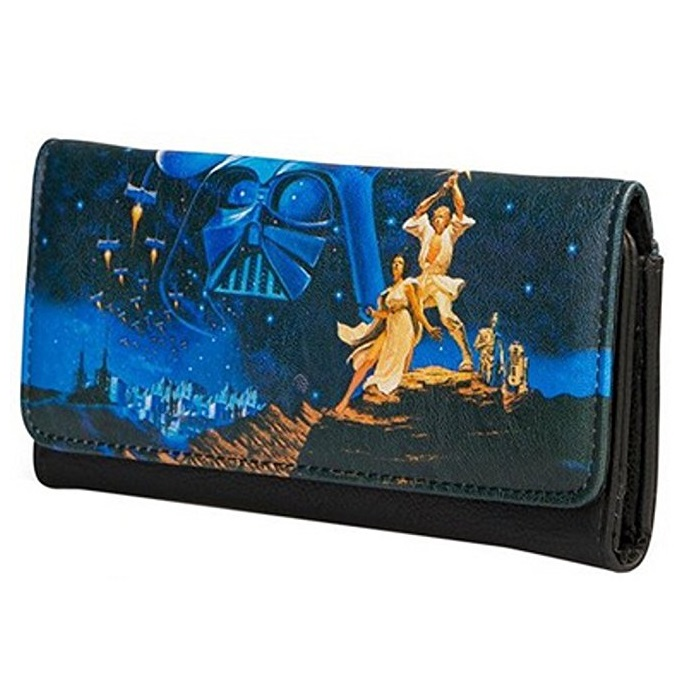 Loungefly x Star Wars Wallet at Retrospace