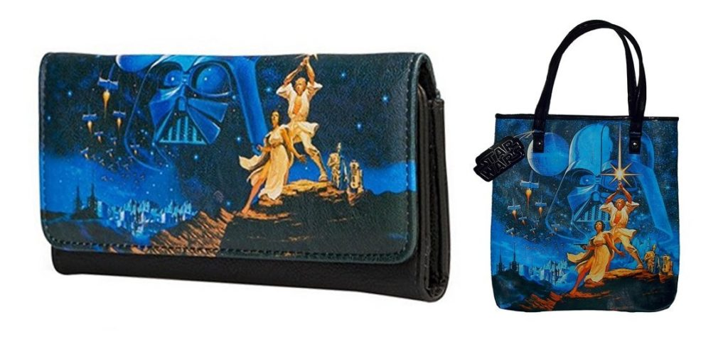 Loungefly x Star Wars Tote Bag and Wallet at Retrospace