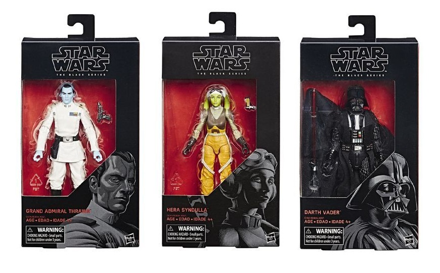 """Star Wars Black Series 6"""" Figures on Sale at The Warehouse"""