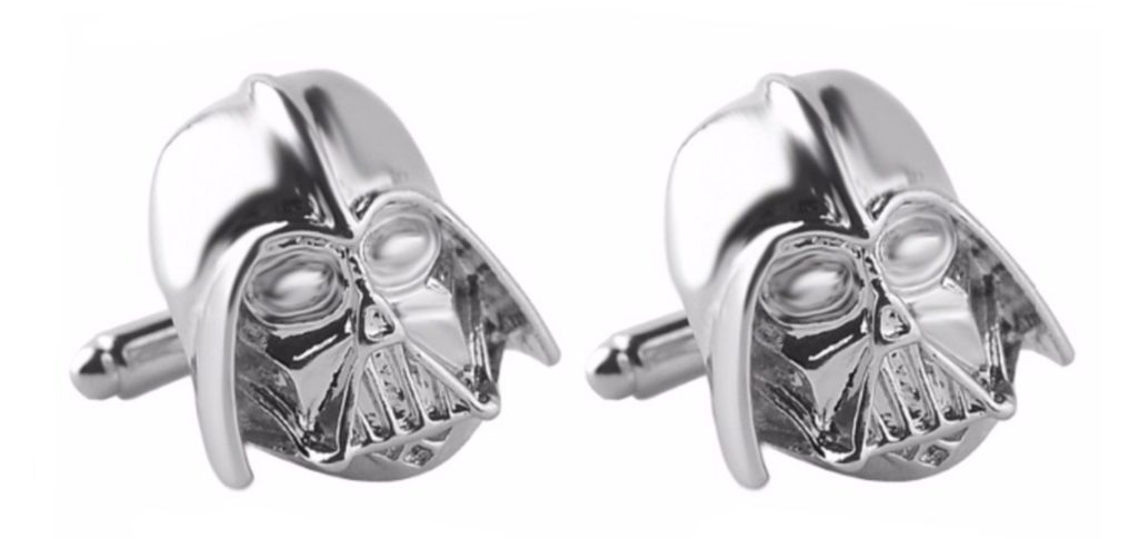 Star Wars Darth Vader 3D Cufflinks at Retrospace