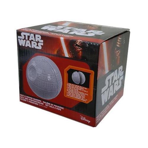 Star Wars Death Star Salt & Pepper Shaker Set on Retrospace