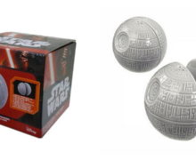 Death Star Salt & Pepper Shaker Set