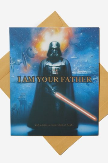 Star Wars Father's Day Cards at Typo NZ