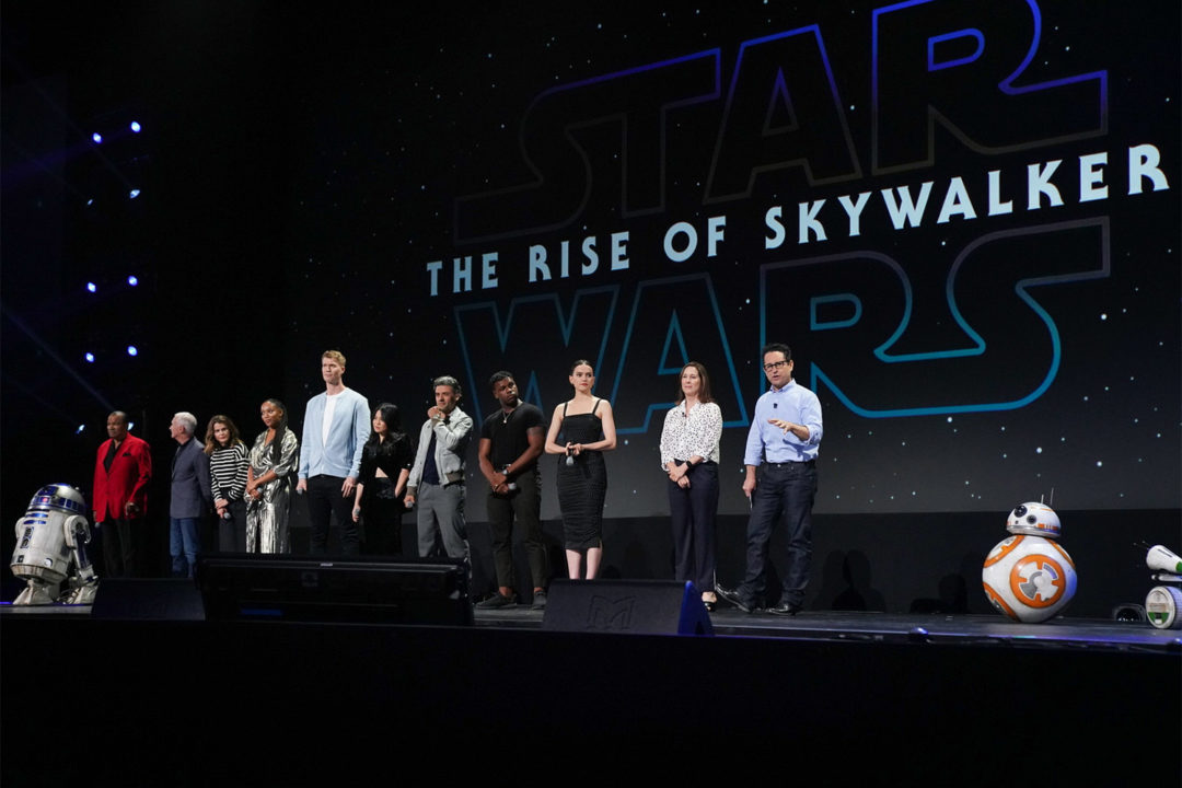 The Rise of Skywalker at D23 Expo