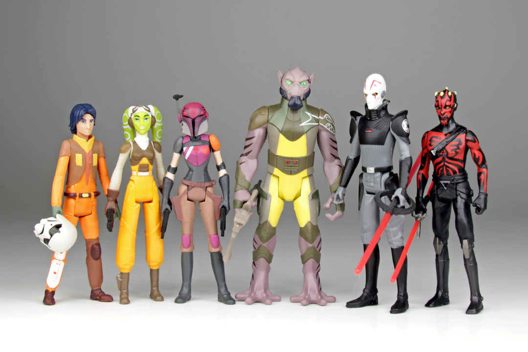 Star Wars Rebels Voice Talent at Auckland Armageddon Expo 2019