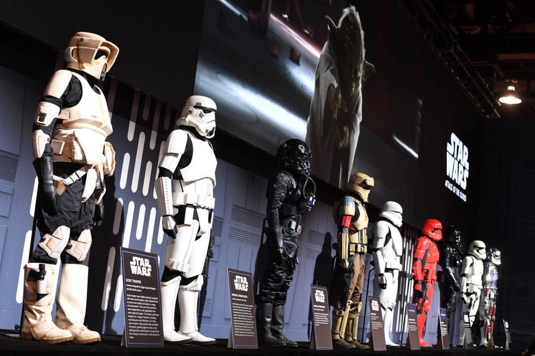 Evolution of the Stormtrooper Costume Exhibit