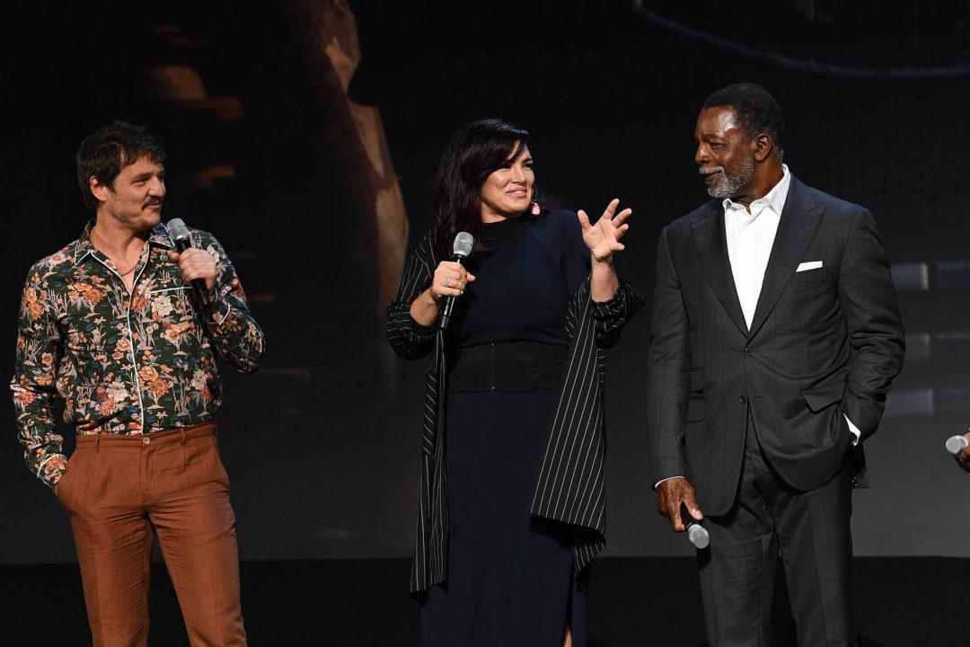 The Mandalorian - Pedro Pascal, Gina Carano, Carl Weathers