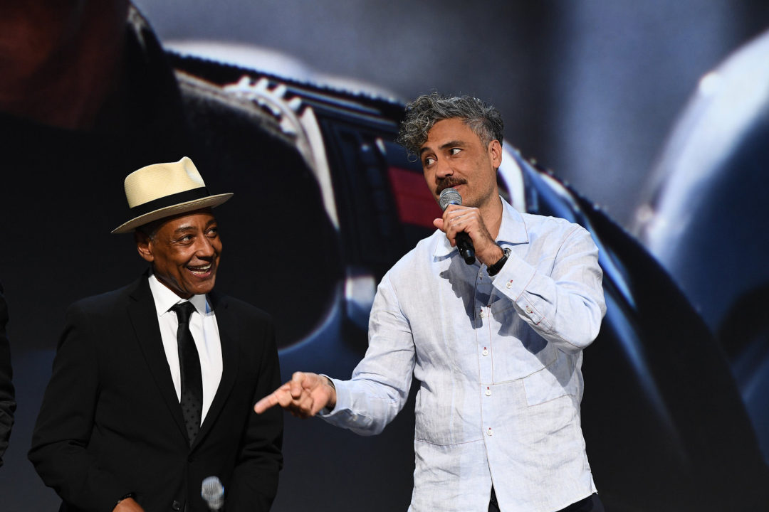 The Mandalorian - Giancarlo Esposito and Taika Waititi