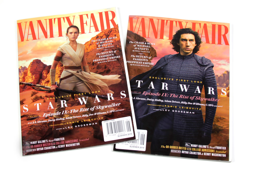 Star Wars Vanity Fair Summer 2019