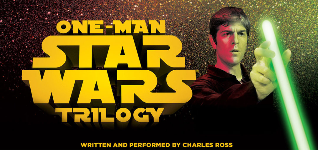One Man Star Wars Trilogy in NZ