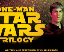 One Man Star Wars Trilogy Returns to NZ