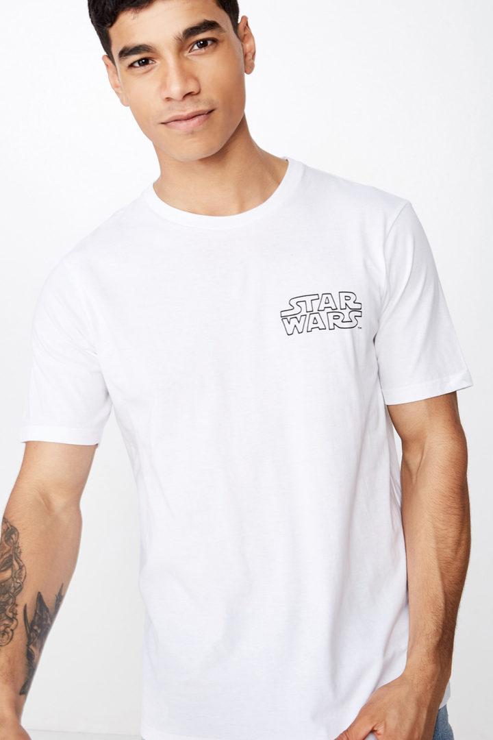 Cotton On Men Tbar Collab Star Wars T-Shirt