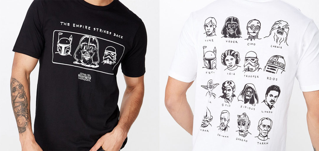 Cotton On Men Tbar Collab Star Wars T-Shirt