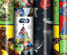 Star Wars Christmas Wrapping Paper and Gift Bags