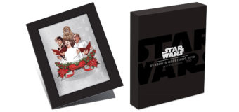 2019 Star Wars Christmas Card Silver Coin
