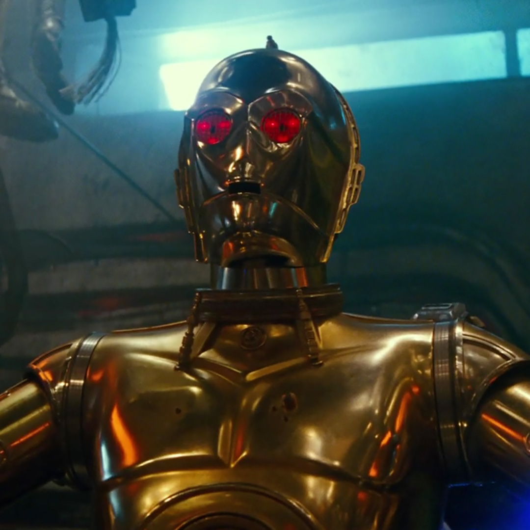 Red-Eyed C-3PO in 2019