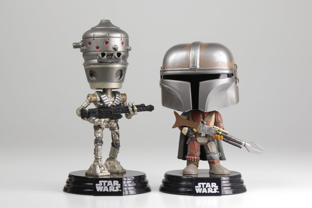 Triple Force Friday Funko Pop! Vinyl Figures (IG-11 and The Mandalorian)