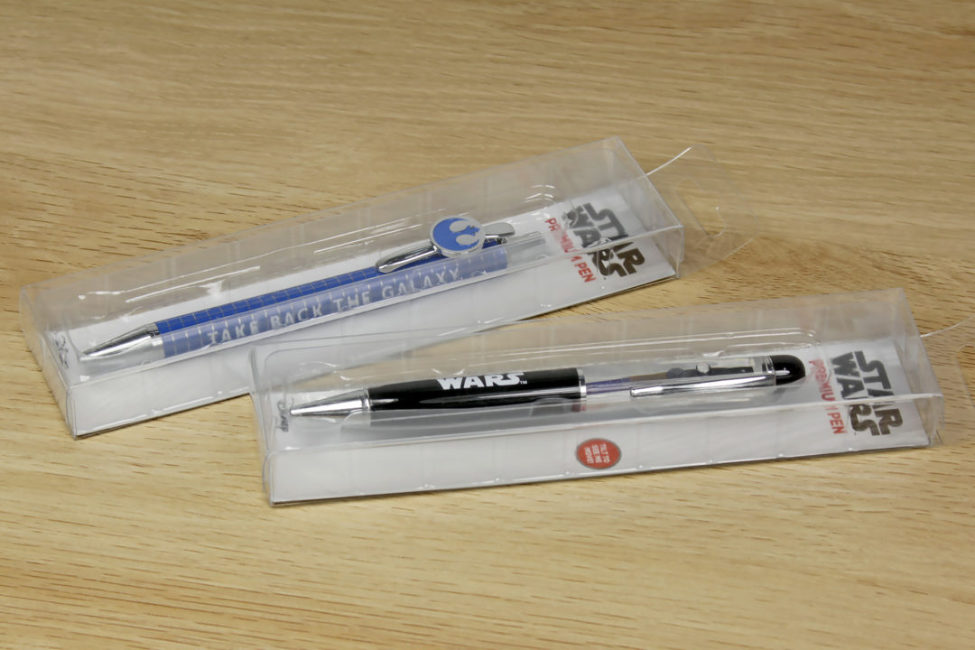 Exclusive Star Wars Pens at The Warehouse