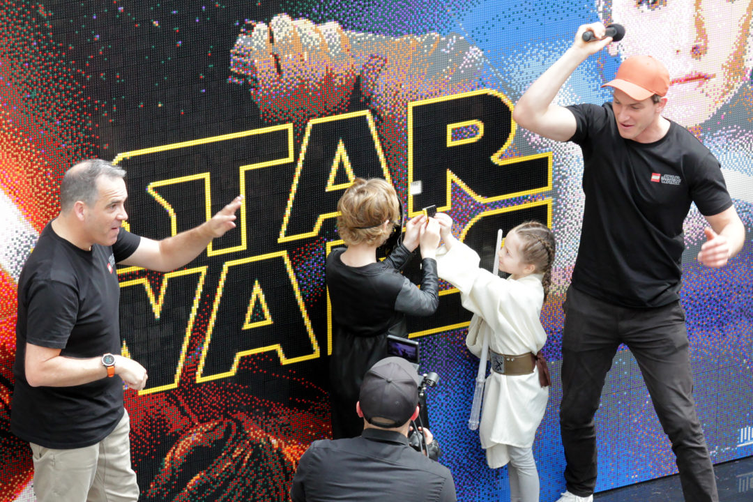 Star Wars LEGO 20th Anniversary Mosaic at Westfield, St Lukes Shopping Mall