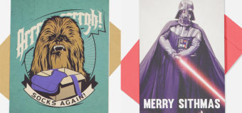 Latest Star Wars Greeting Cards at Typo