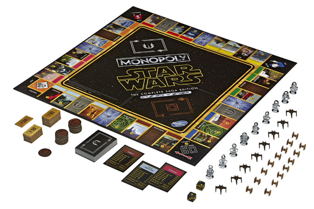 Skywalker Saga Edition Monopoly