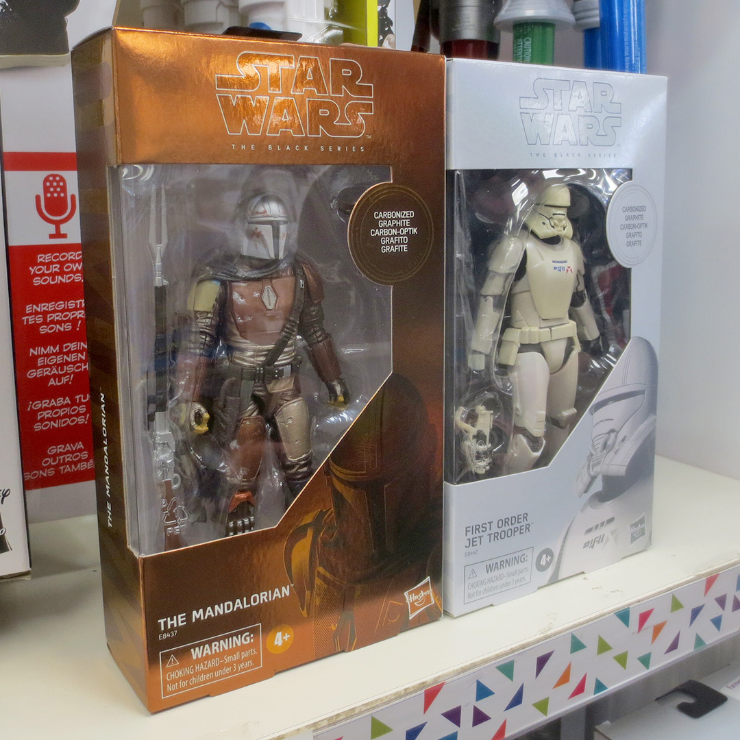 Exclusive Carbonized Jet Trooper figure