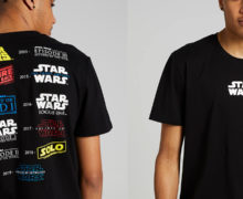 "Star Wars Movies ""Tour"" T-Shirt at Jay Jays"