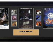 Framed Star Wars Film Cell Displays