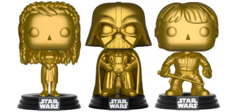 Latest Star Wars Gold Pop! Vinyl Figures at Mighty Ape
