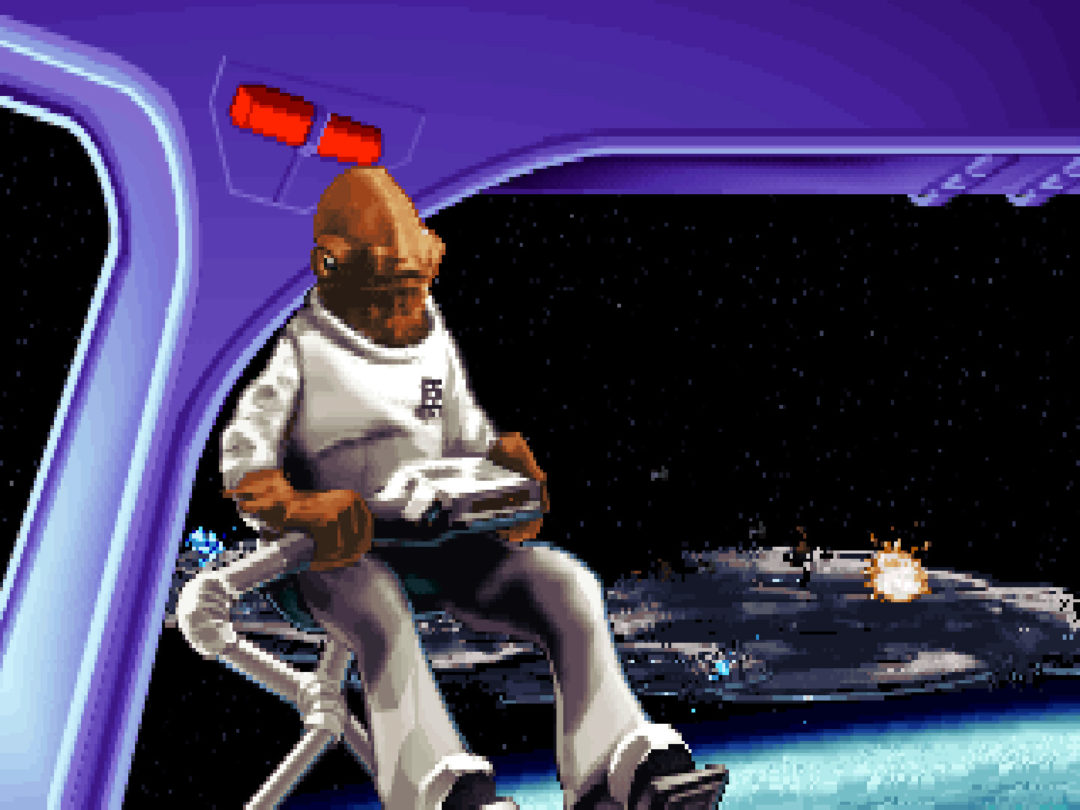 LucasArts Star Wars DOS X-Wing Game Available Online