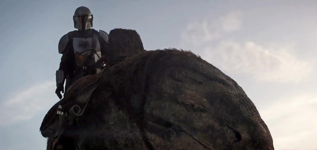 The Mandalorian Footage from Vanity Fair