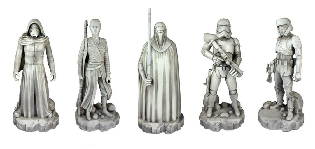 Star Wars Garden Statues at Bunnings