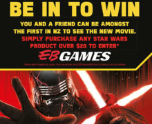 Win Rise of Skywalker Tickets with EB Games