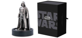 NZ Mint Darth Vader Silver Figure