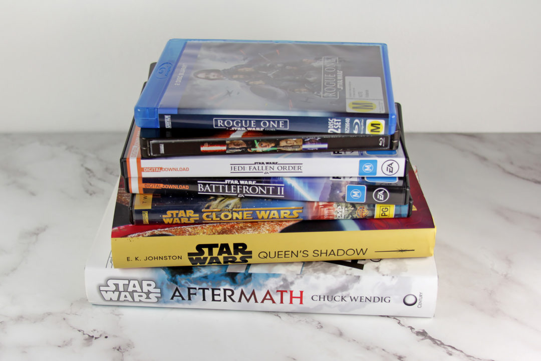 Star Wars Canon Timeline - Books, Games, Movies, and TV Series